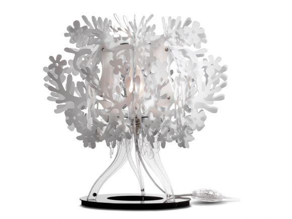 Designer-Tischleuchte FIORELLINA von SLAMP - Design by Nigel Coates - in 2 Farben erhältlich