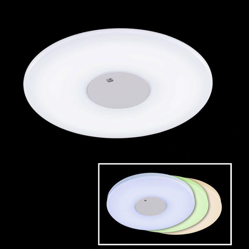 Fischer & Honsel GmbH Moderne Deckenleuchte - LED - Mit Fernbedienung - Dimmbar und Farbtemperaturwechsel - Durchmesser 60 cm 1x 60 Watt, 60,00 cm 212