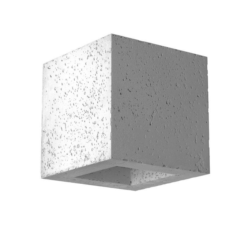 Cleoni Moderne Wandleuchte - Beton - Inklusive ...