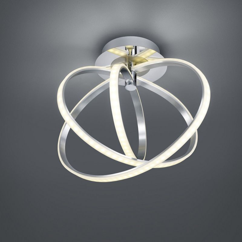 Trio Dimmbare LED-Deckenleuchte Corland - LEDs ...