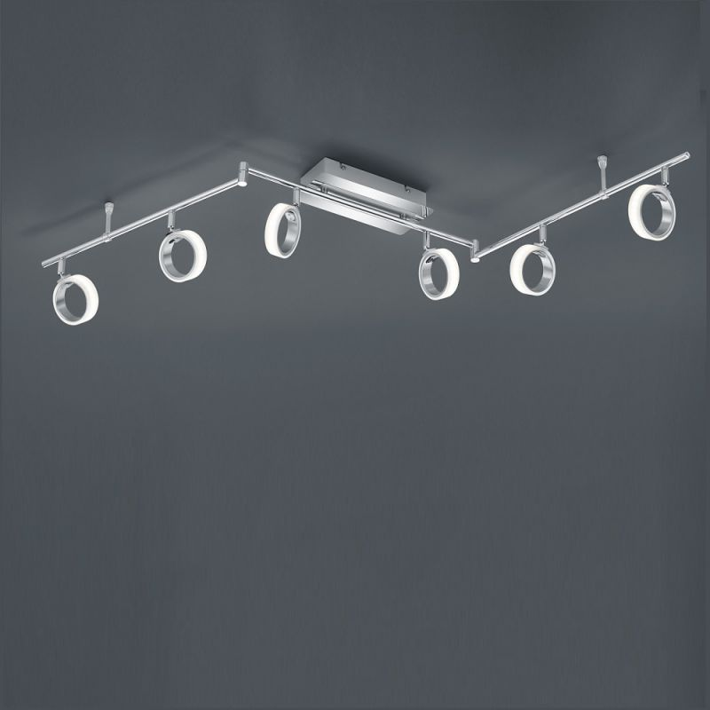 Trio Moderner LED-Deckenstrahler Corland - 6-flammig Corland 874310606