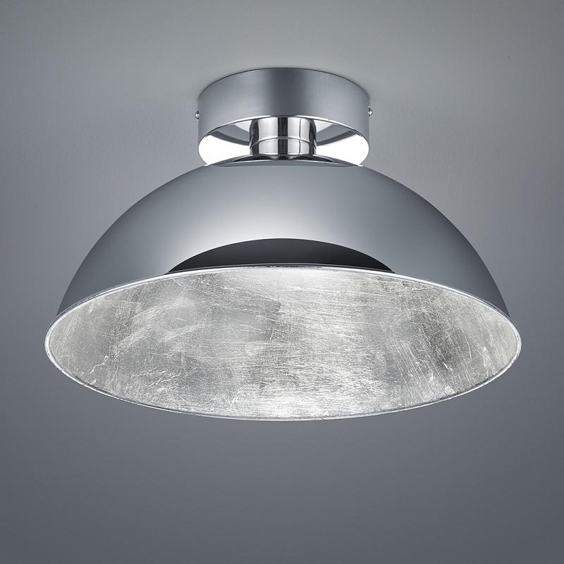Trio Dimmbare LED-Deckenleuchte 40 cm, Chrom / ...