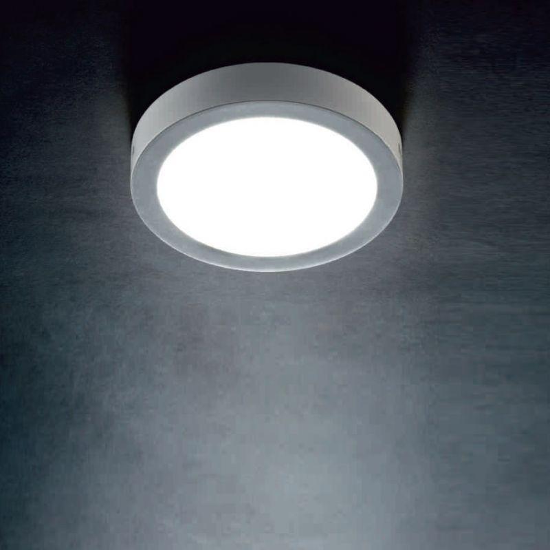 Lupia Licht LED-Deckenleuchte Reno mit Rand wei...