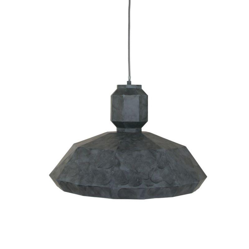 Steinhauer Pendelleuchte Metall grau Ø 53cm Ste...