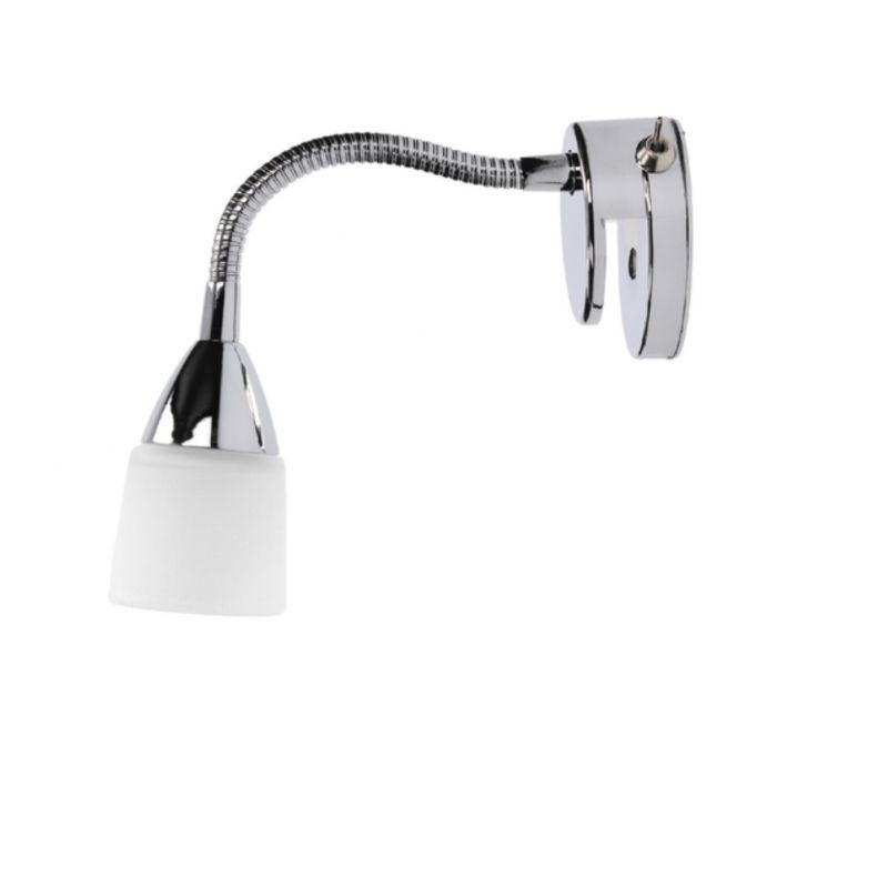 Spot-Light Aquatic Spiegelleuchte mit Flexarm u...