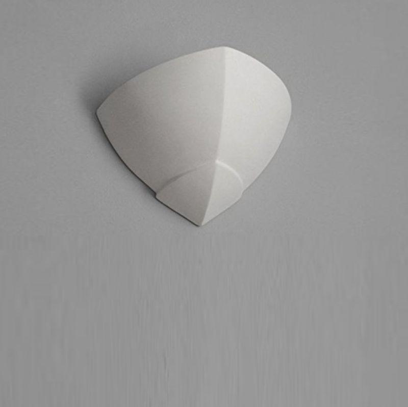 Cleoni Gips Wandleuchte Hiszpan für  Wand 23,30 cm, 31,60 cm, 17,70 cm 1170