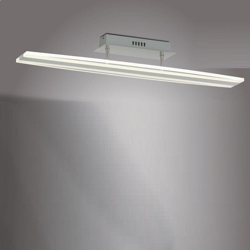 Esto LED-Deckenleuchte Arion, Aluminium und Acr...