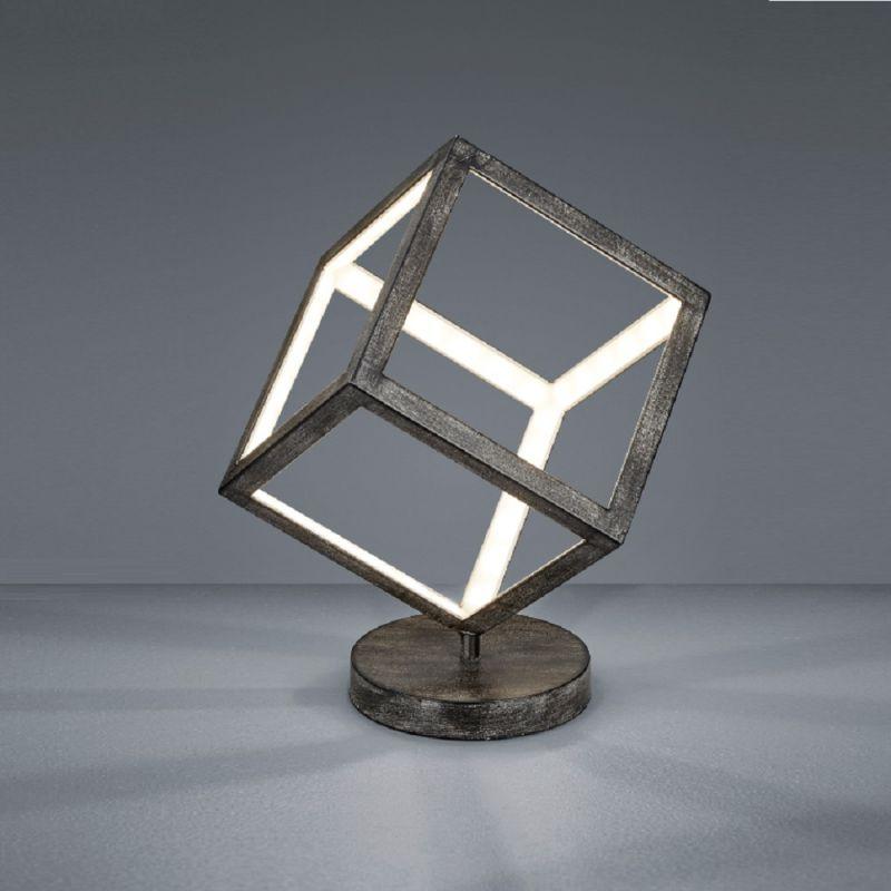 Trio LED Tischleuchte Dice 520112061