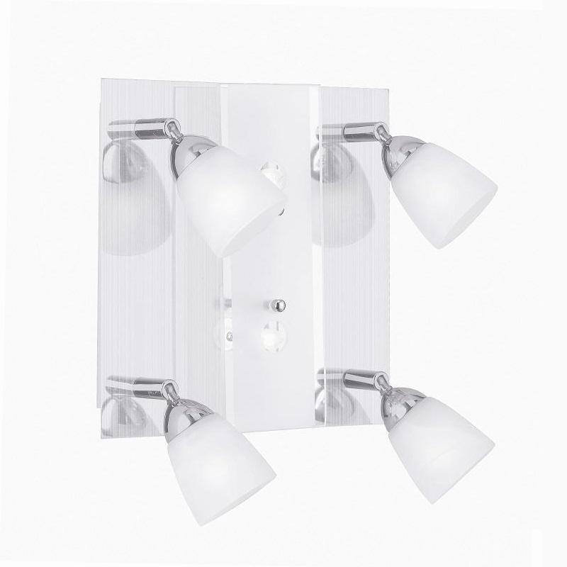Leuchten Direkt Deckenleuchte mit 4- Strahlern-...