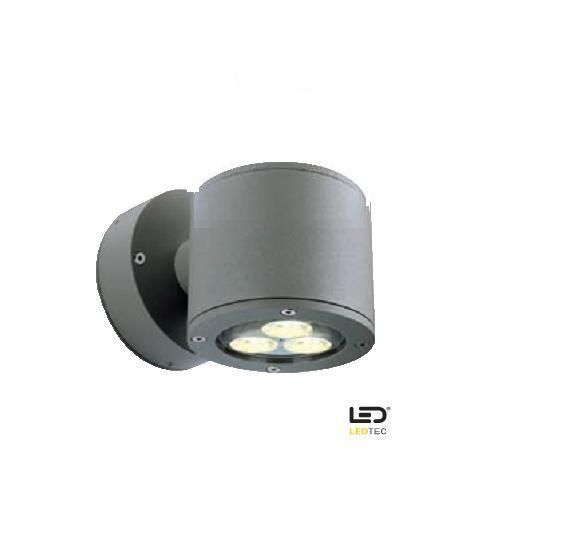 LHG Wandleuchte SITRA WALL mit Power LED in ste...