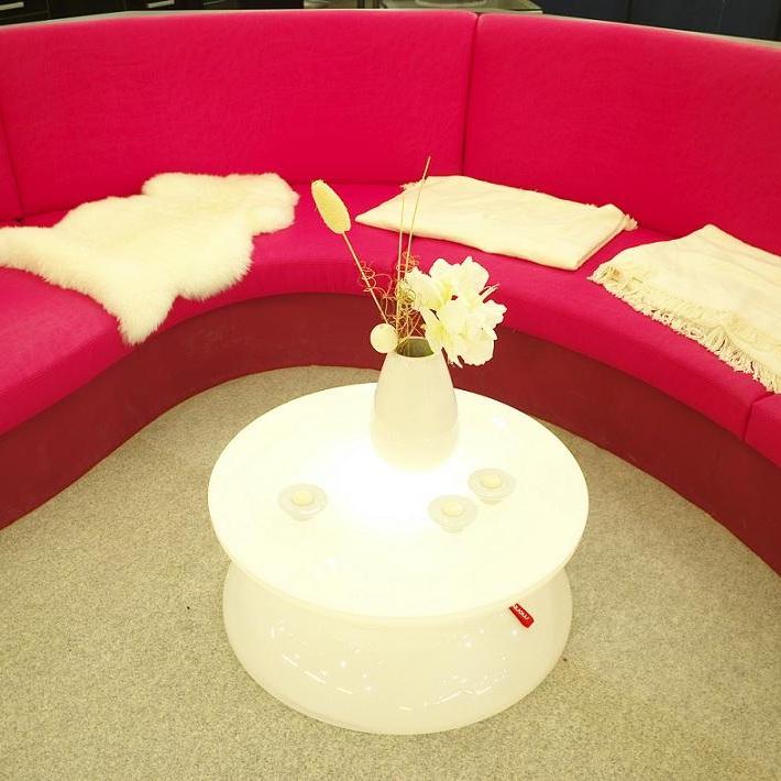 Moree Beleuchteter Beistelltisch Lounge Indoor ...