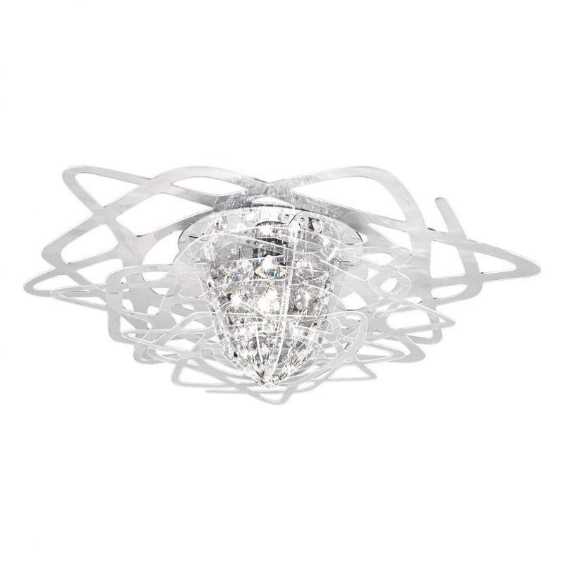 SLAMP Designer-Deckenlampe Aurora Mini in Trans...