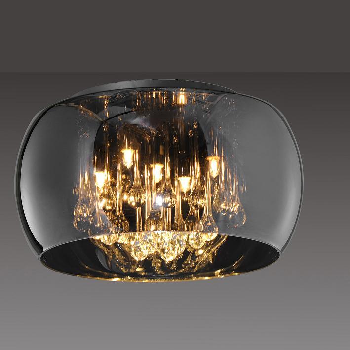 Sorpetaler Leuchten Deckenleuchte mit Kristallb...