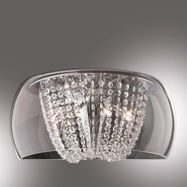 Ideal Lux Wandleuchte mit geschliffenem Kristal...