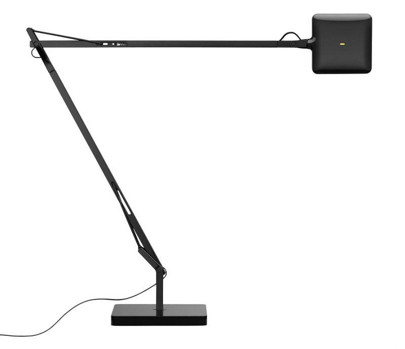FLOS Design-LED-Schreibtischleuchte Kelvin, Sch...