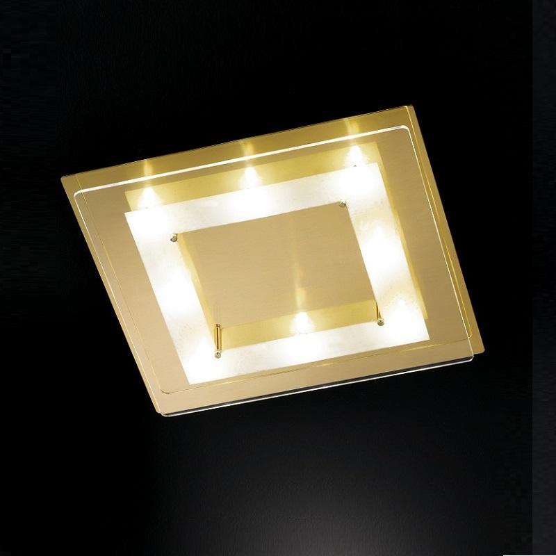 Fischer & Honsel GmbH LED-Deckenleuchte in Mess...