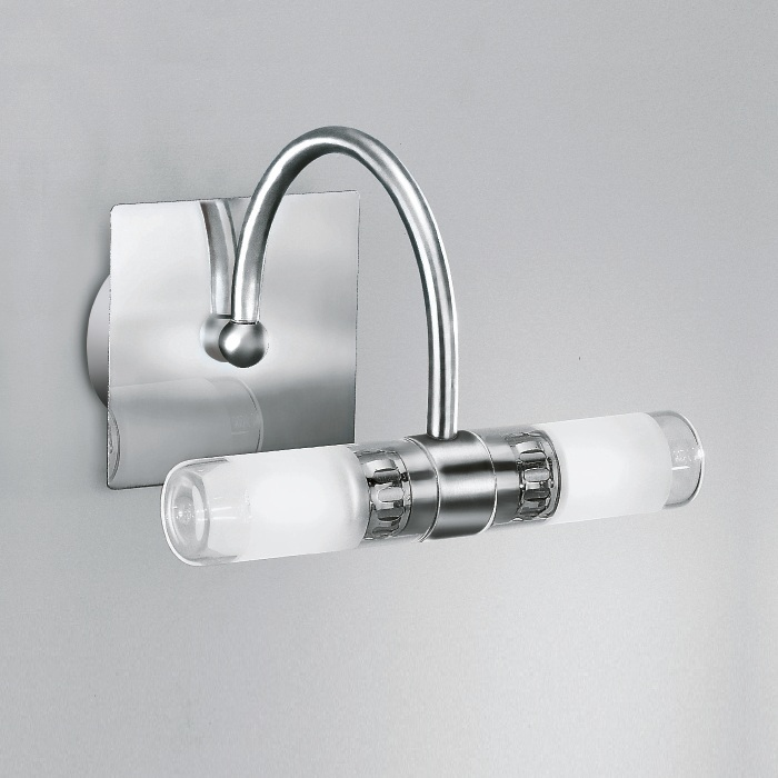 Linea Light Moderne Wandleuchte mit teilsatinie...