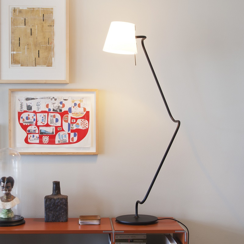 Serien Lighting Dimmbare Design-Tischleuchte El...