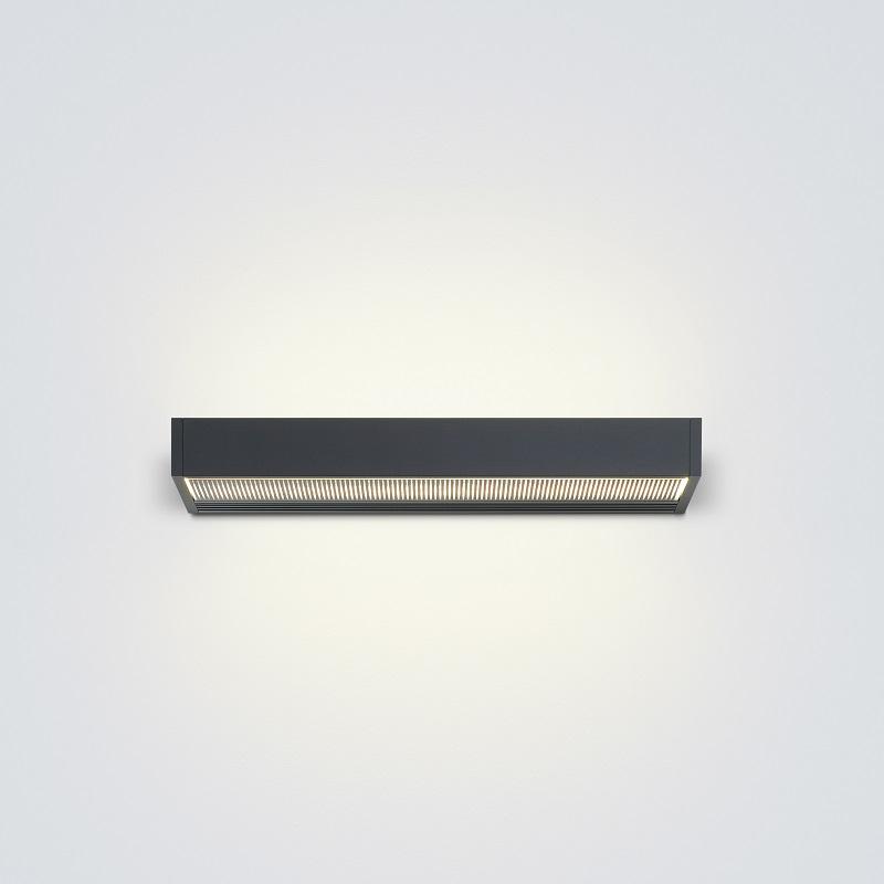 Serien Lighting LED-Wandleuchte Sml schwarz mit...