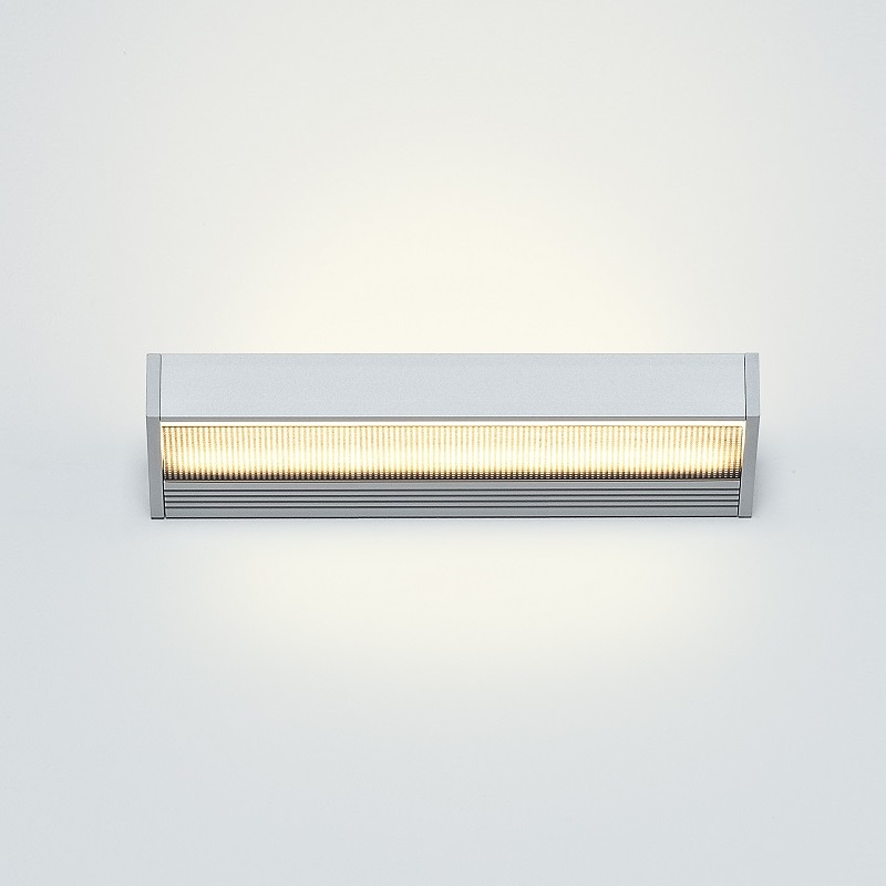 Serien Lighting LED-Wandleuchte Sml mit Glas / ...