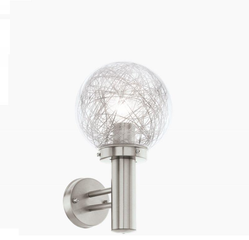 EGLO Kugelleuchte Wandlampe aus Aluminium 93366