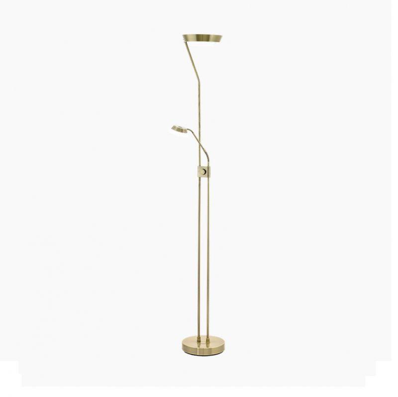 EGLO Moderner LED Fluter dimmbar, mit Lesearm, ...