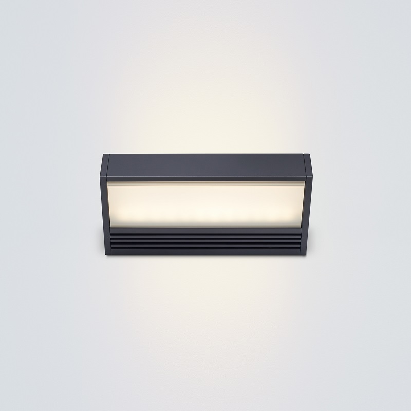 Serien Lighting LED-Wandleuchte SML-LED schwarz...