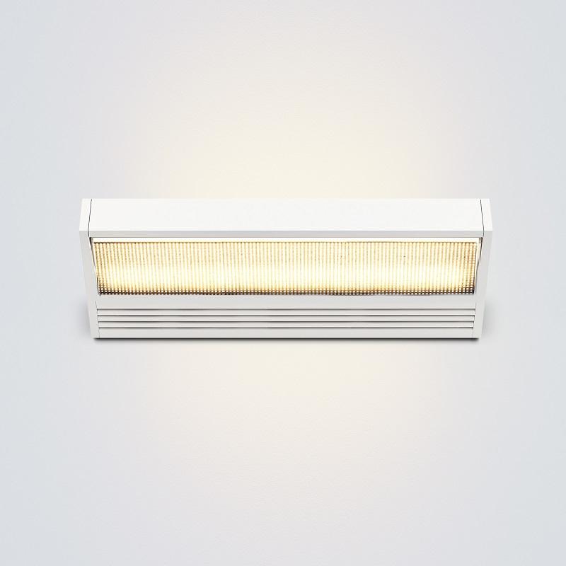 Serien Lighting LED-Wandleuchte Sml mit Glas / ...