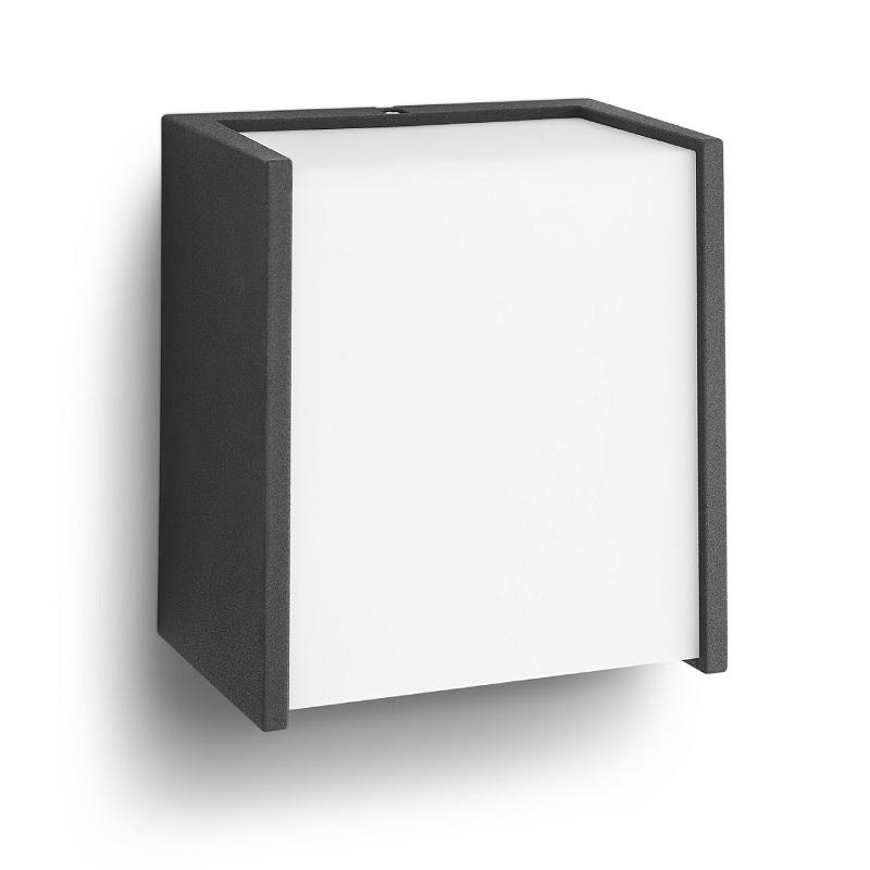 Philips Moderne LED-Außen-Wandleuchte direkt & ...