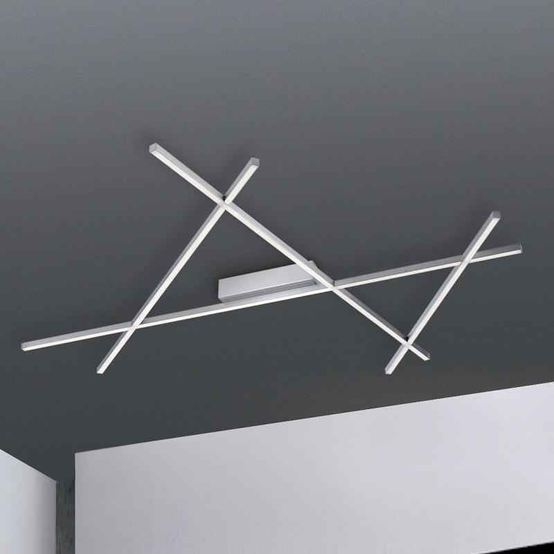 Paul Neuhaus Elegante LED-Deckenleuchte mit Fernbedienung, 38W LED Stick 2 8052-55