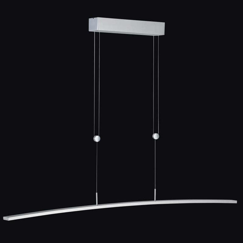 Hufnagel LED-Zugpendelleuchte Bend Alu-geb. Län...