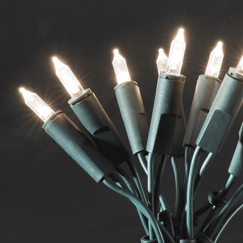 Konstsmide LED-Minilichterkette für den Innenbereich - 140 LED-Dioden - 230 V - One String - 8 Funktionen - warmweiss warmweiß 6310-120