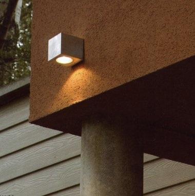 Bel Lighting Wandaussenleuchte Cube 95, nach ob...