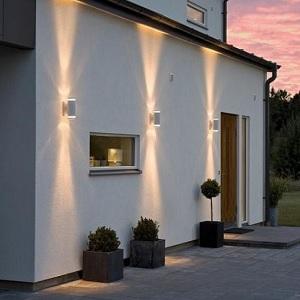 hausbeleuchtung haus und garten ins rechte licht r cken wohnlicht. Black Bedroom Furniture Sets. Home Design Ideas
