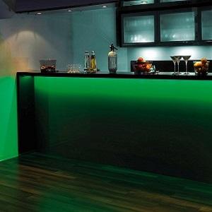 indirekte beleuchtung bilder und schr nke richtig in szene setzen wohnlicht. Black Bedroom Furniture Sets. Home Design Ideas